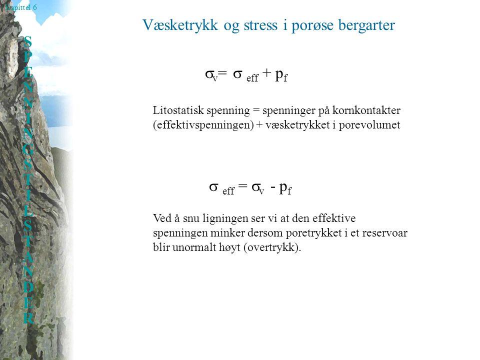 Væsketrykk og stress i porøse bergarter