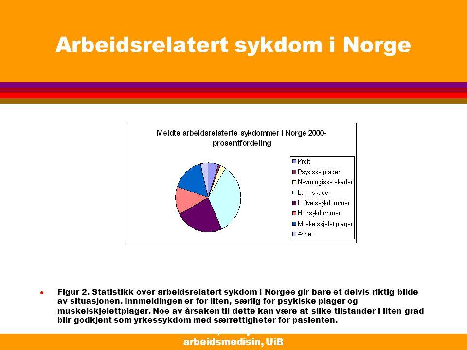 Arbeidsrelatert sykdom i Norge