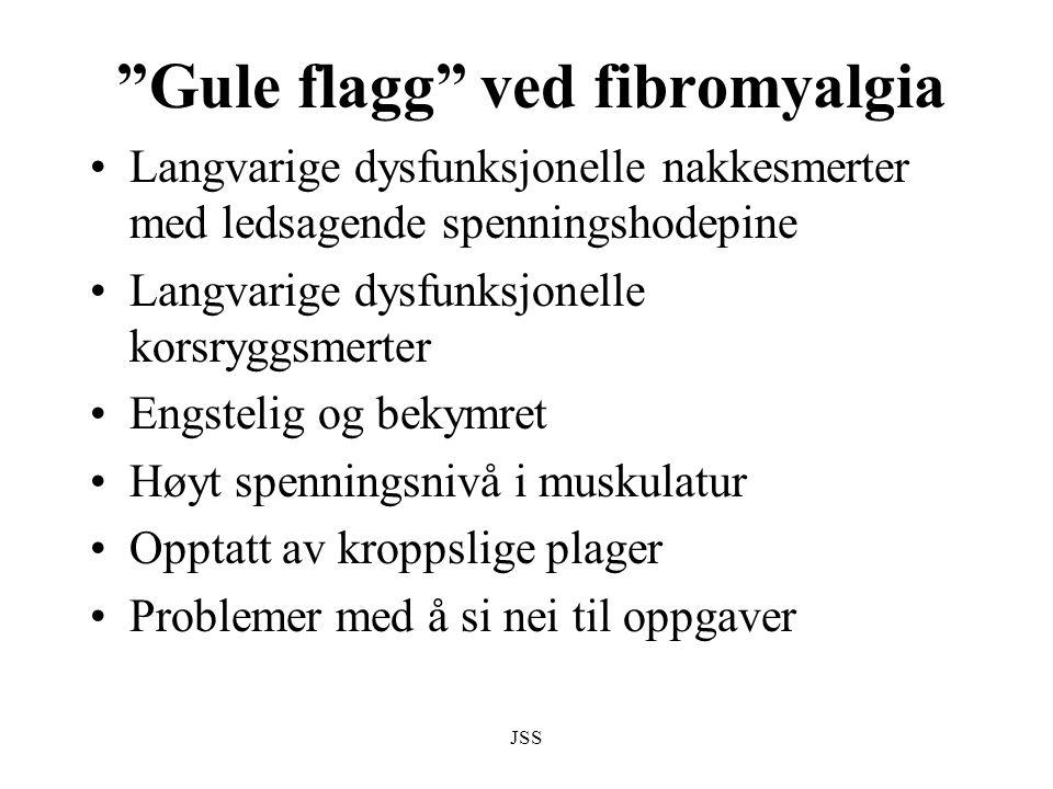 Gule flagg ved fibromyalgia