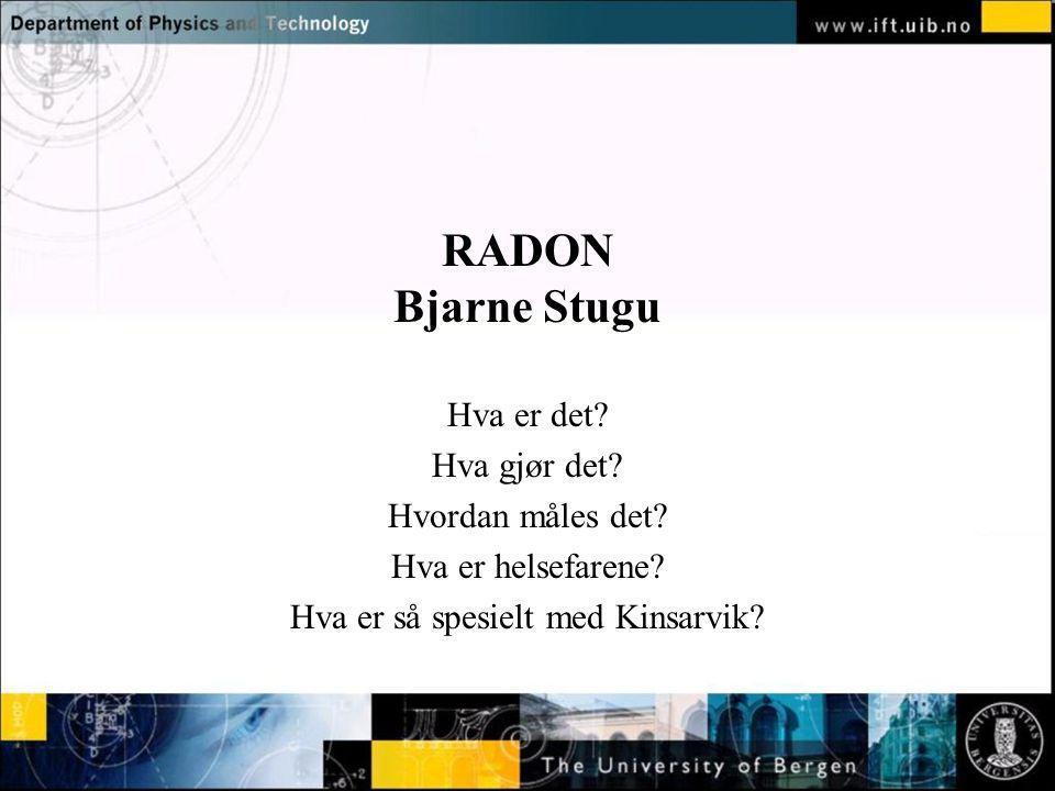 Hva er så spesielt med Kinsarvik