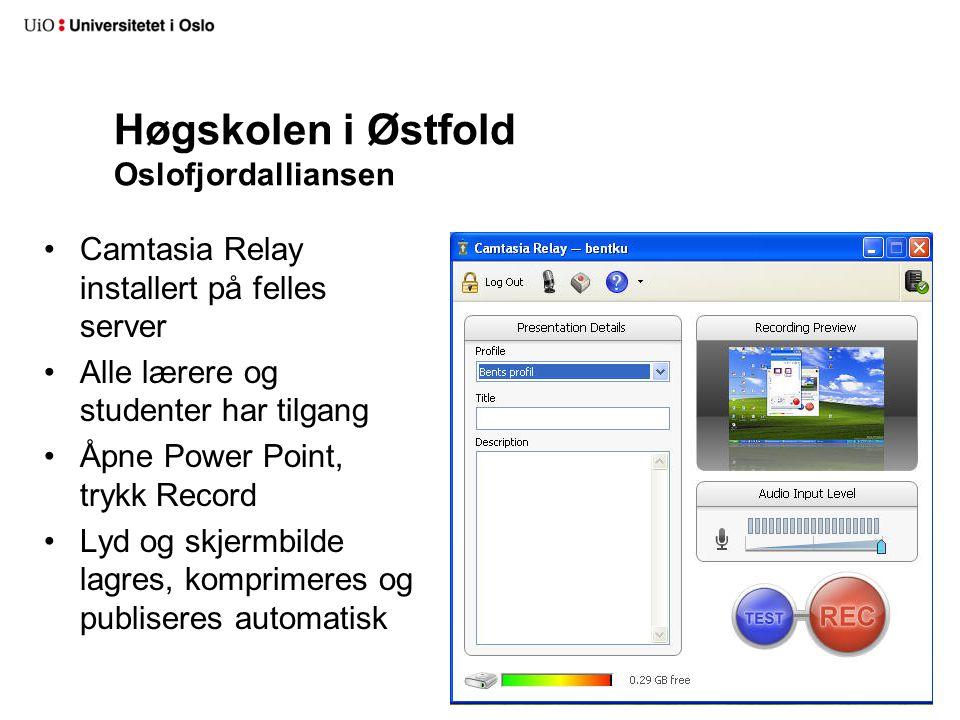 Høgskolen i Østfold Oslofjordalliansen