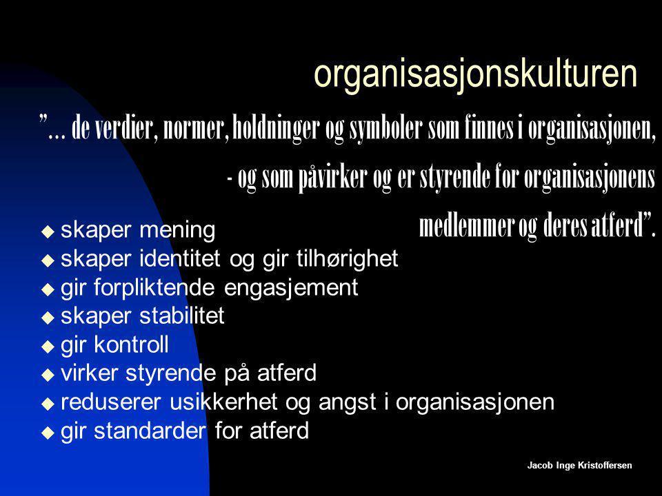 organisasjonskulturen