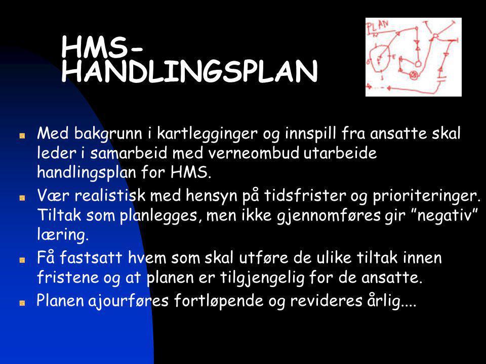 HMS- HANDLINGSPLAN