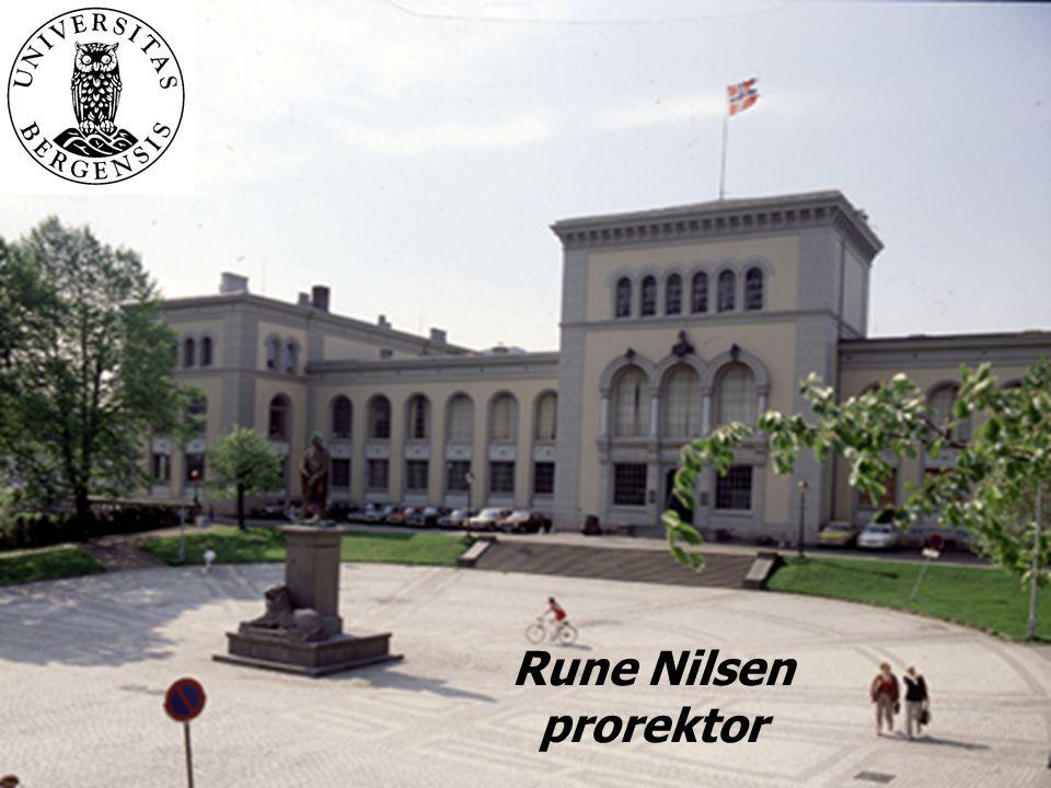 Rune Nilsen prorektor