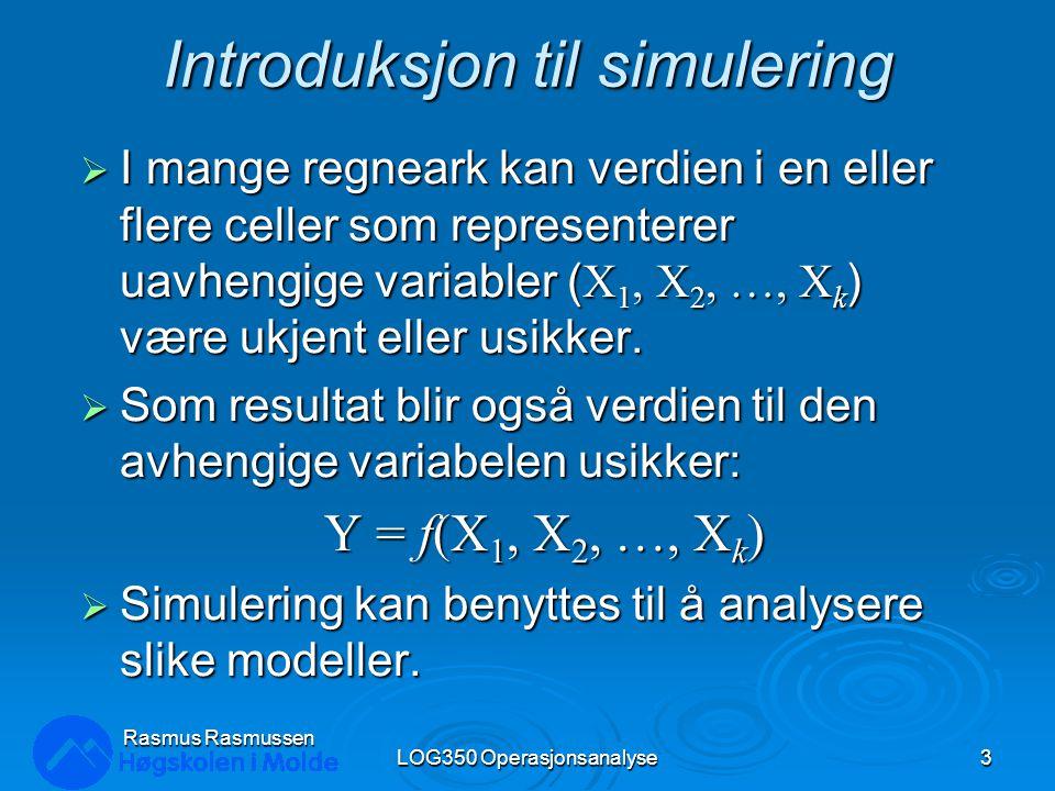 Introduksjon til simulering