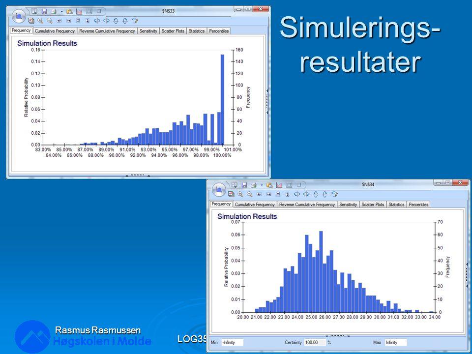 Simulerings-resultater