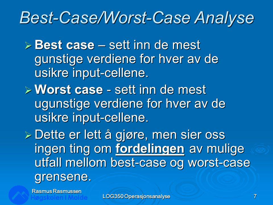 Best-Case/Worst-Case Analyse