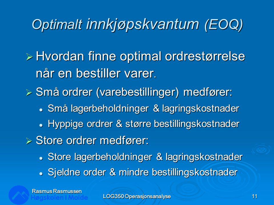 Optimalt innkjøpskvantum (EOQ)