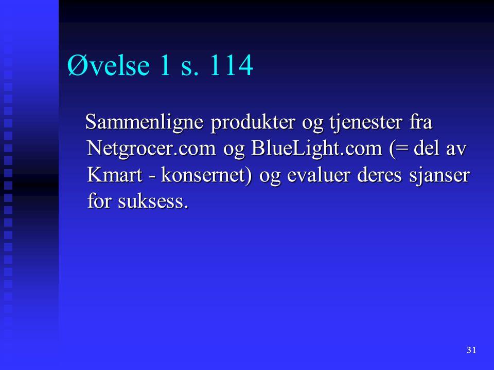 Øvelse 1 s. 114