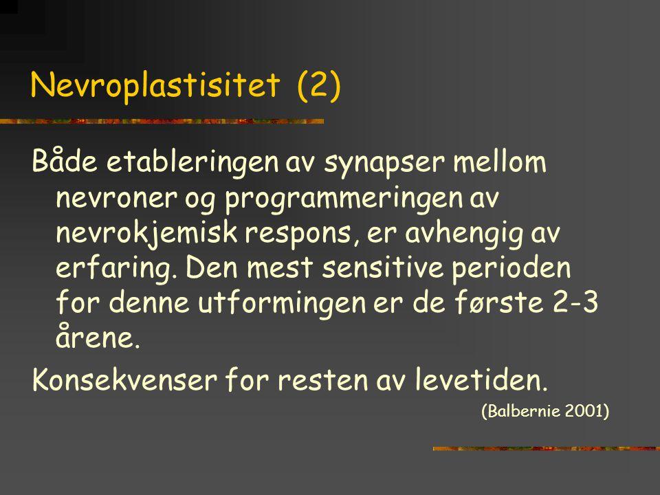 Nevroplastisitet (2)