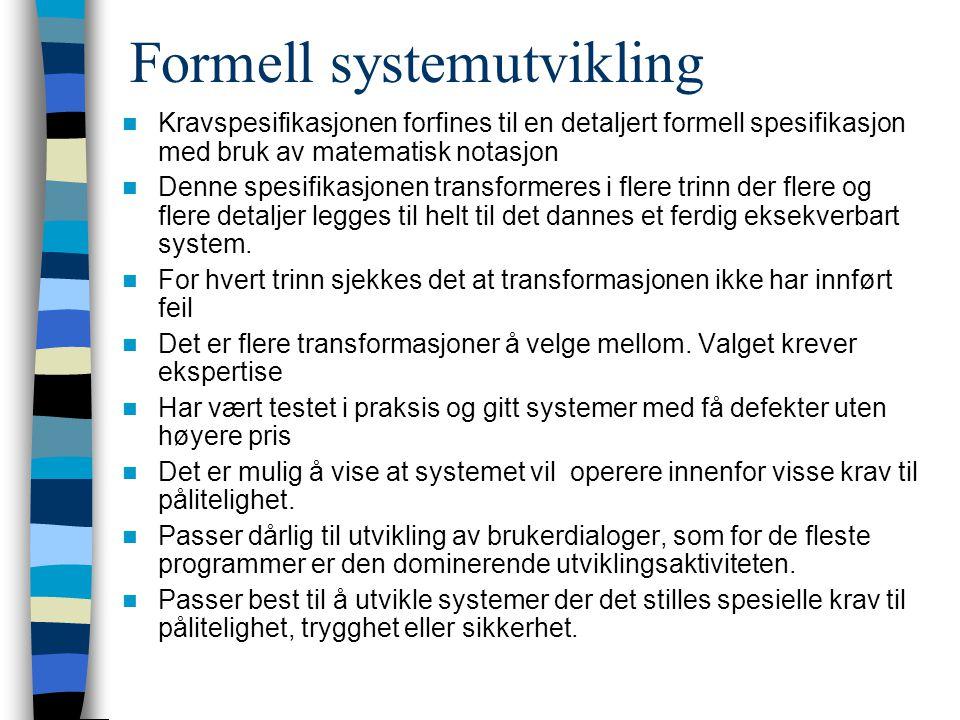 Formell systemutvikling