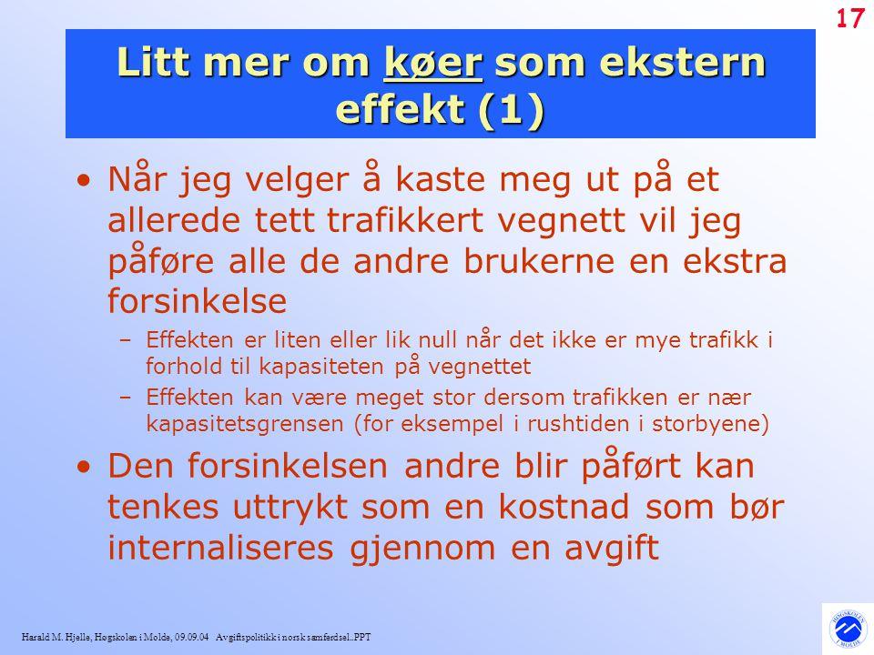 Litt mer om køer som ekstern effekt (1)