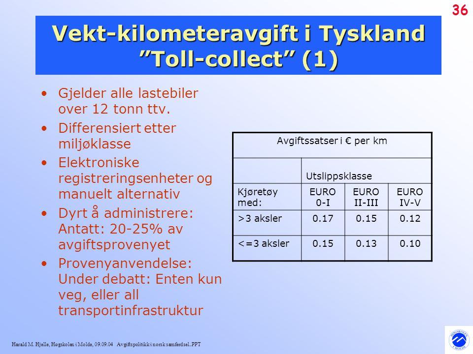 Vekt-kilometeravgift i Tyskland Toll-collect (1)