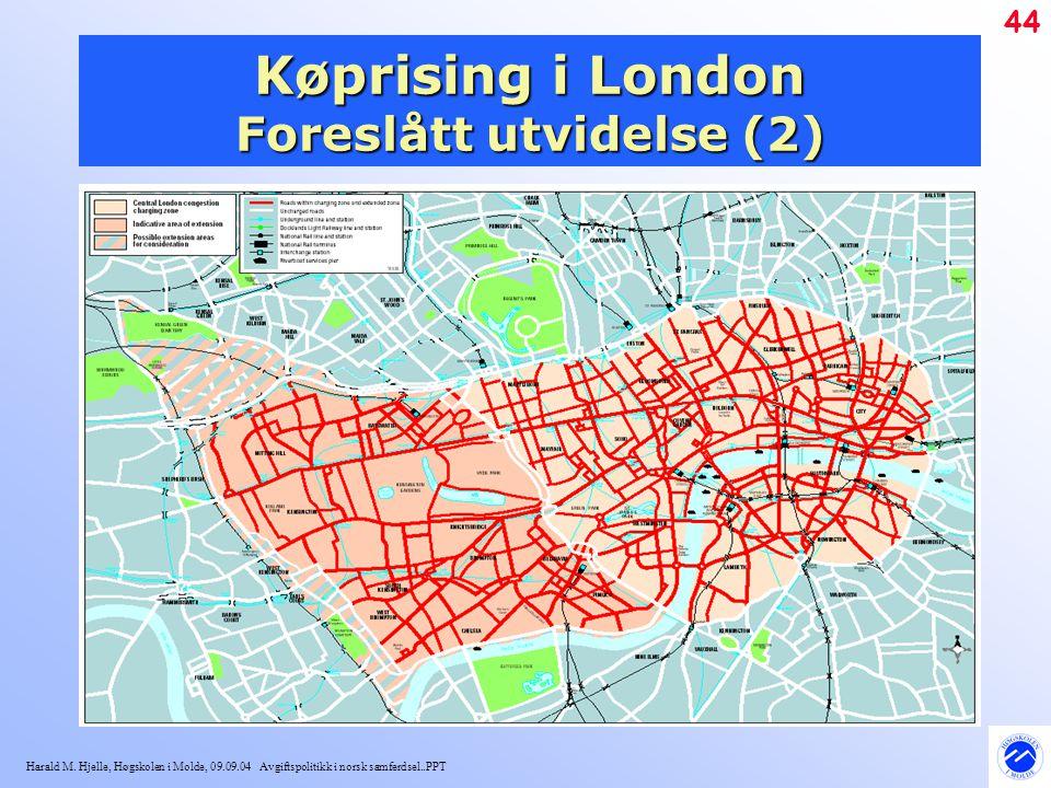 Køprising i London Foreslått utvidelse (2)