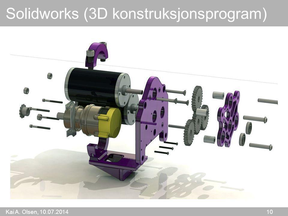 Solidworks (3D konstruksjonsprogram)