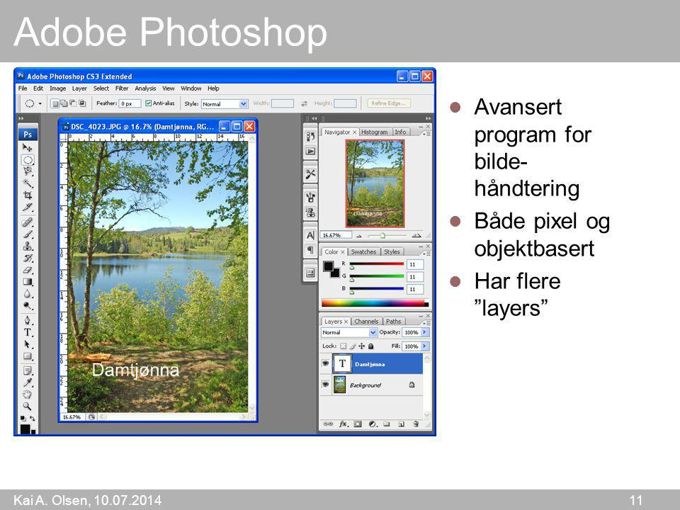 Adobe Photoshop Avansert program for bilde-håndtering