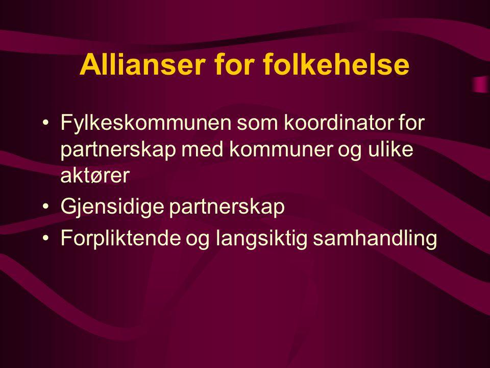 Allianser for folkehelse