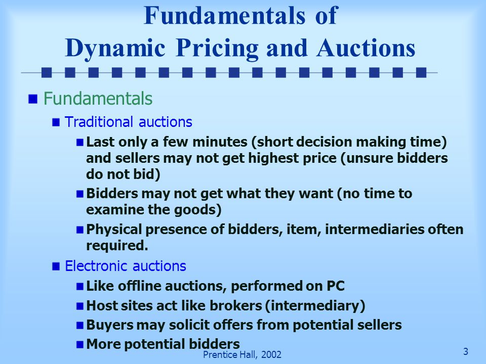 Fundamentals of Dynamic Pricing and Auctions