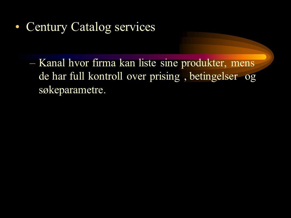 Century Catalog services