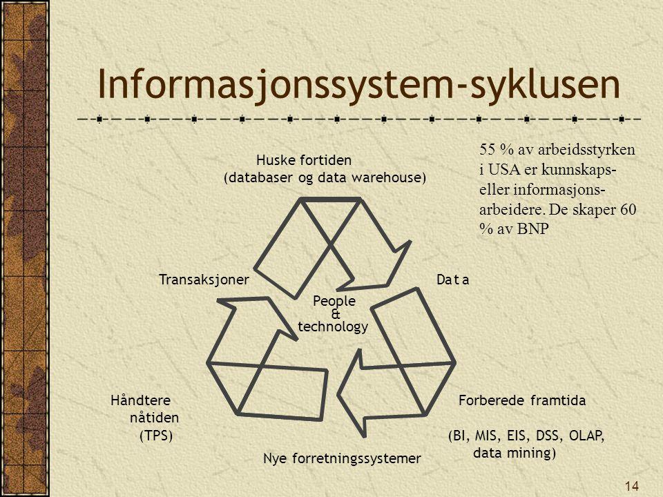 Informasjonssystem-syklusen