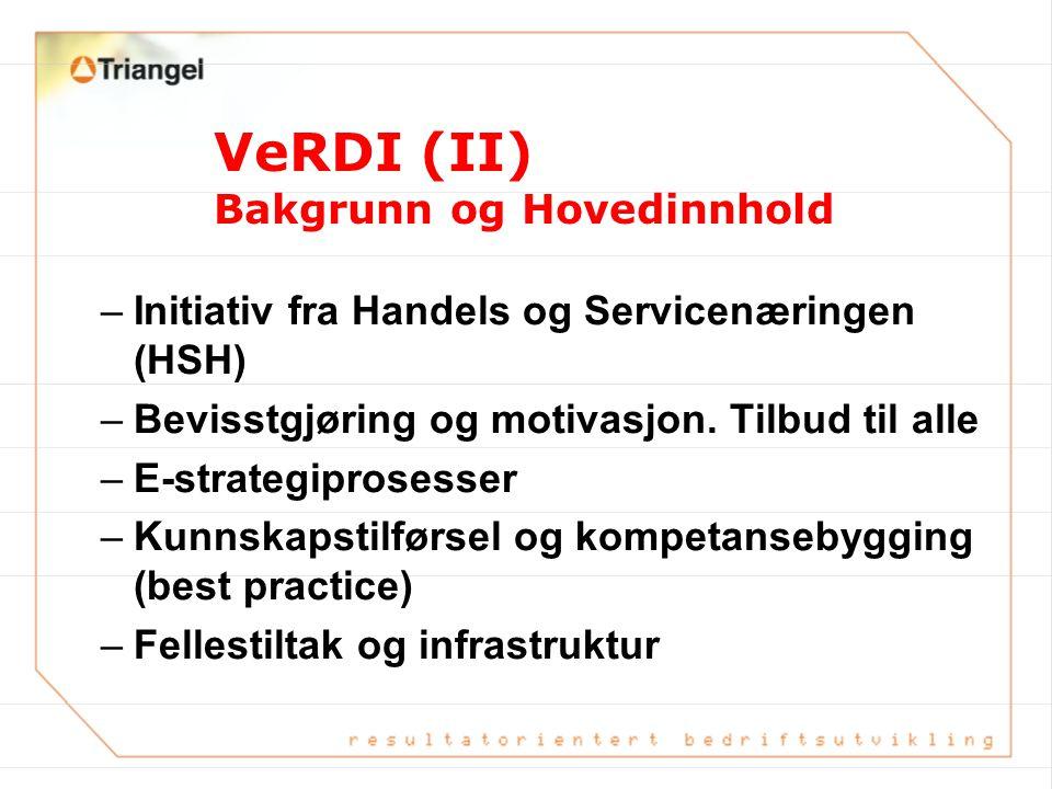 VeRDI (II) Bakgrunn og Hovedinnhold