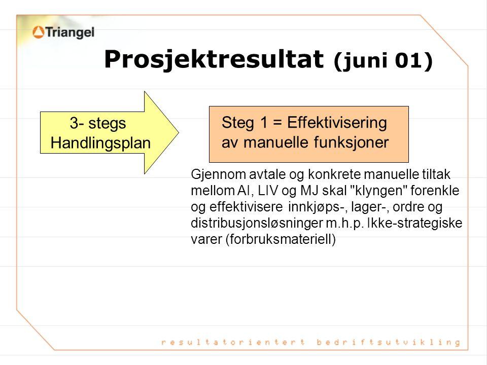 Prosjektresultat (juni 01)