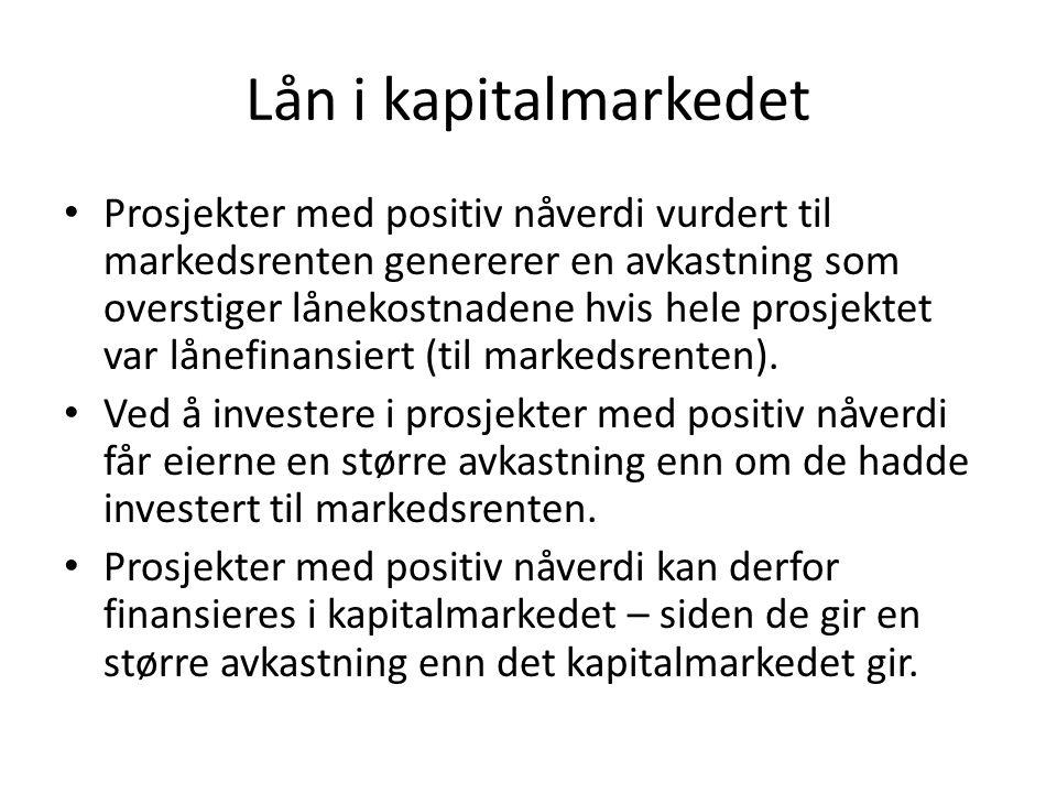 Lån i kapitalmarkedet