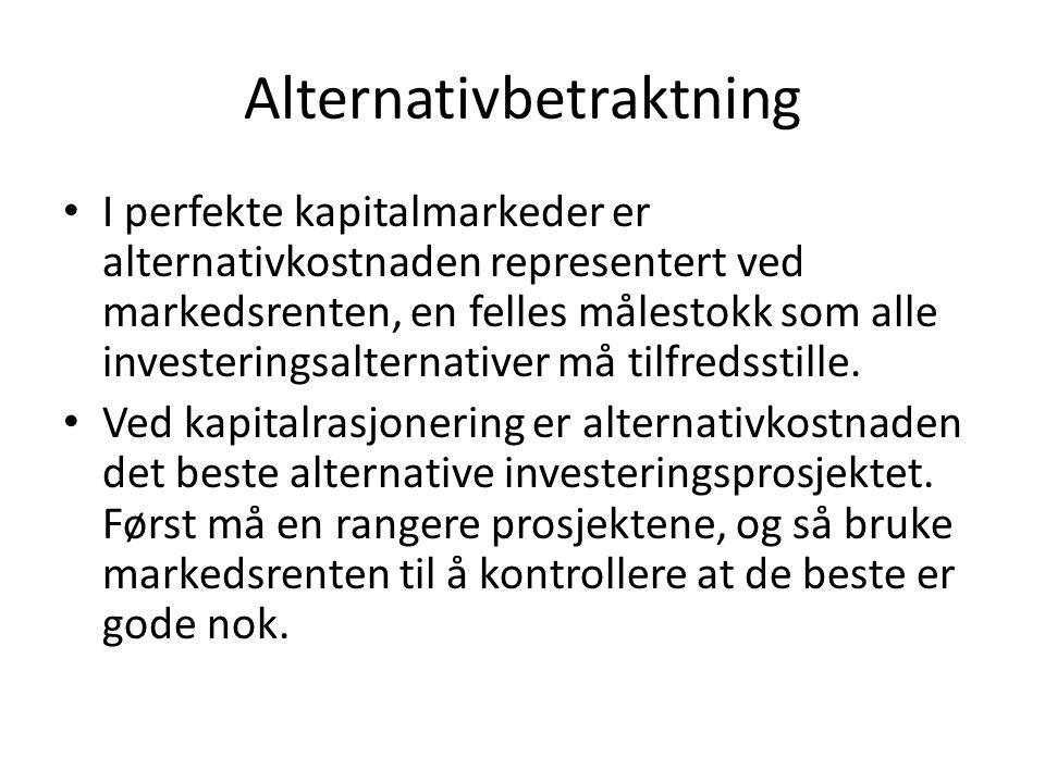 Alternativbetraktning