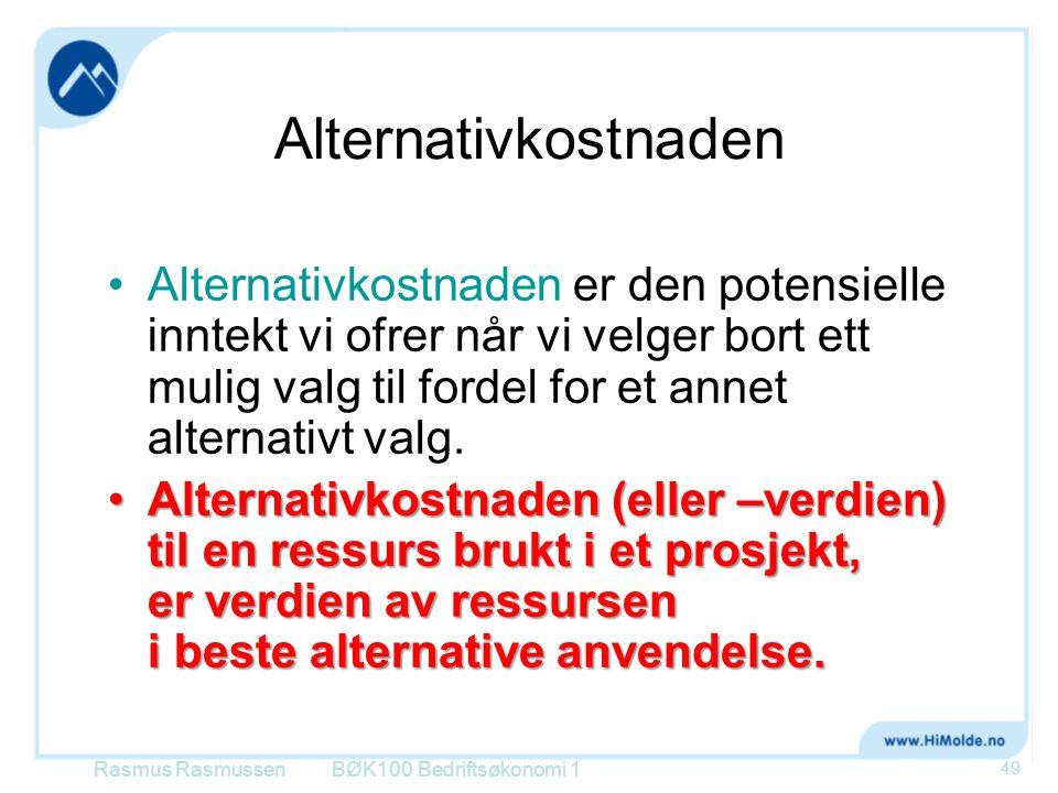 Alternativkostnaden