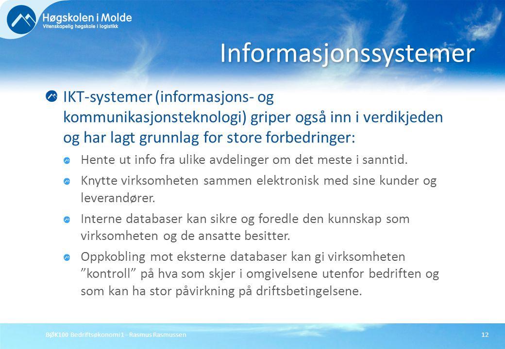 Informasjonssystemer