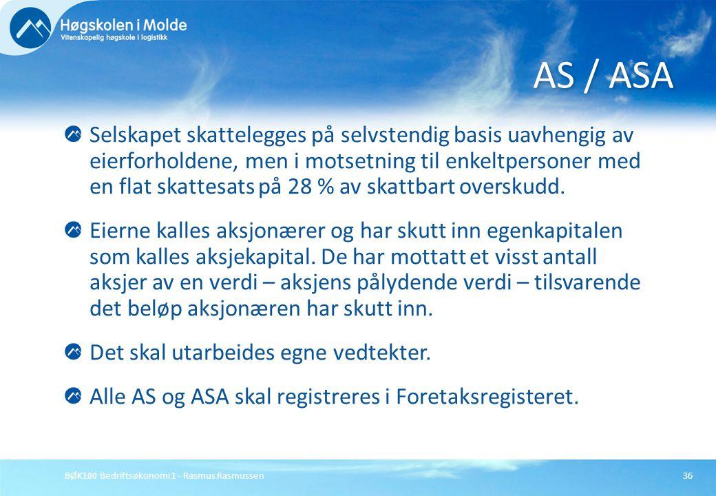 AS / ASA