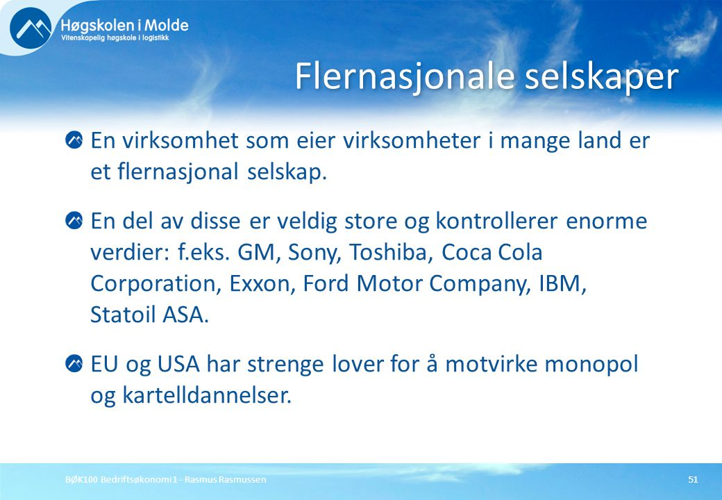Flernasjonale selskaper