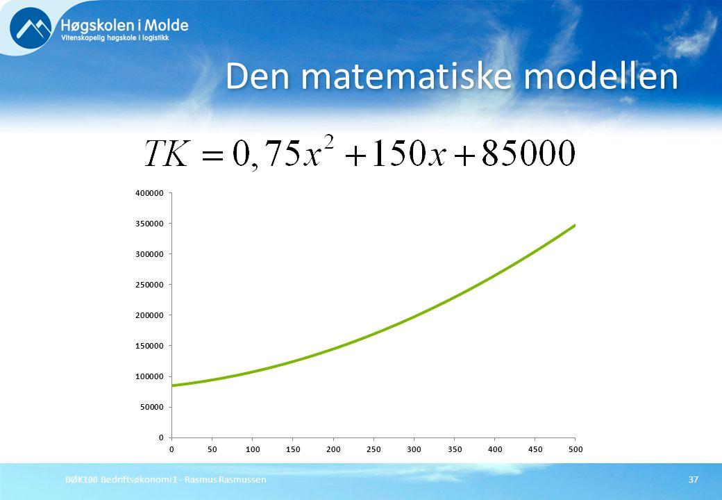 Den matematiske modellen