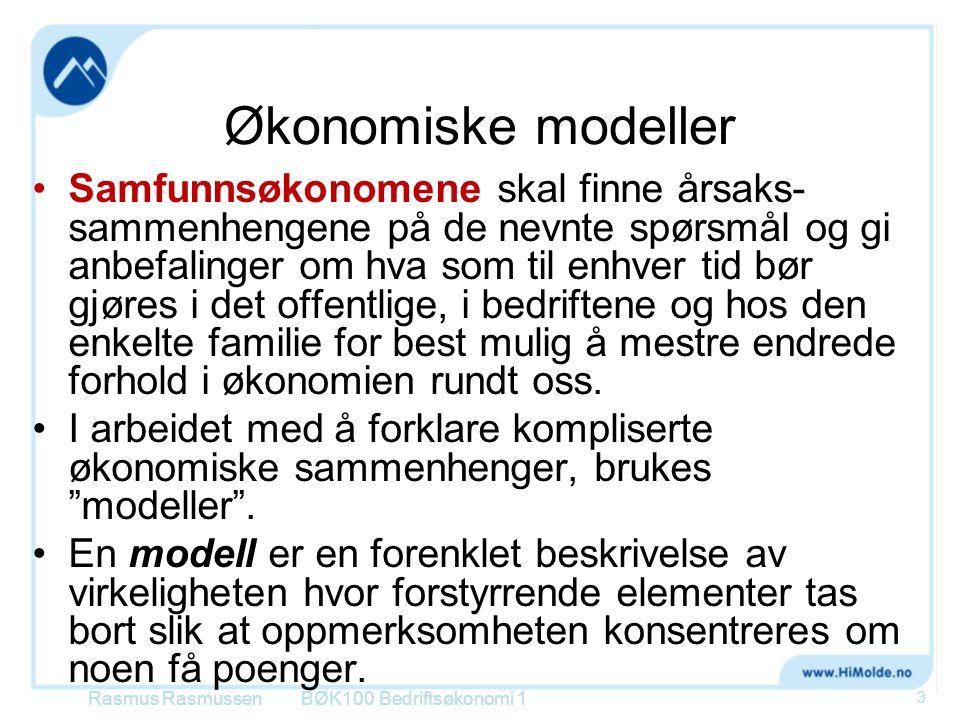 Økonomiske modeller