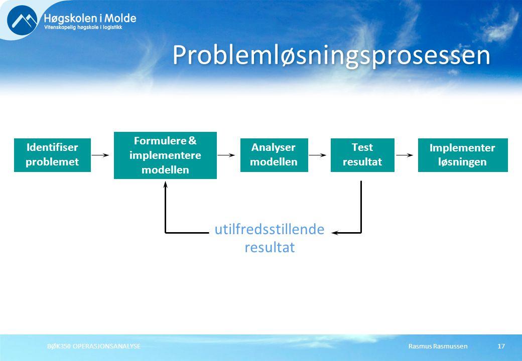 Problemløsningsprosessen