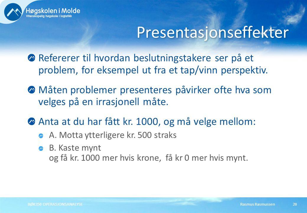 Presentasjonseffekter