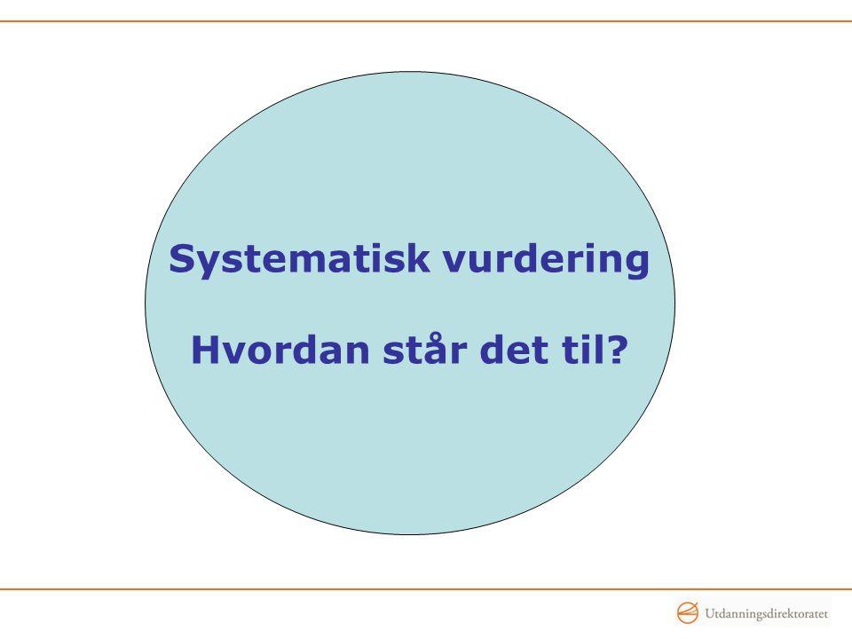 Systematisk vurdering