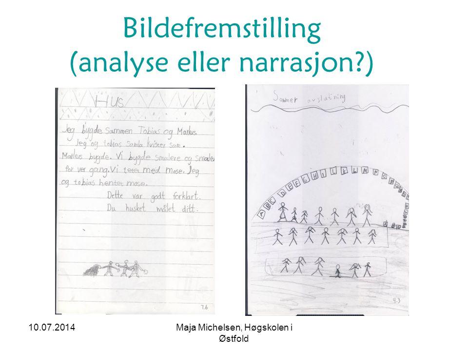 Bildefremstilling (analyse eller narrasjon )