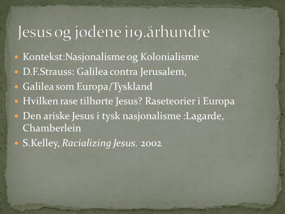 Jesus og jødene i19.århundre