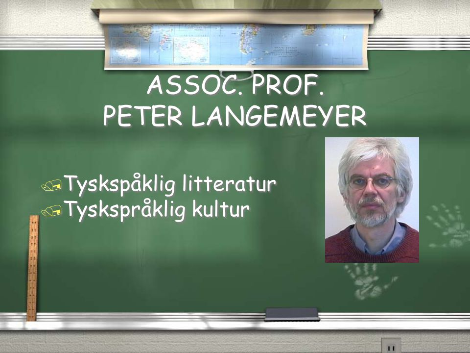 ASSOC. PROF. PETER LANGEMEYER