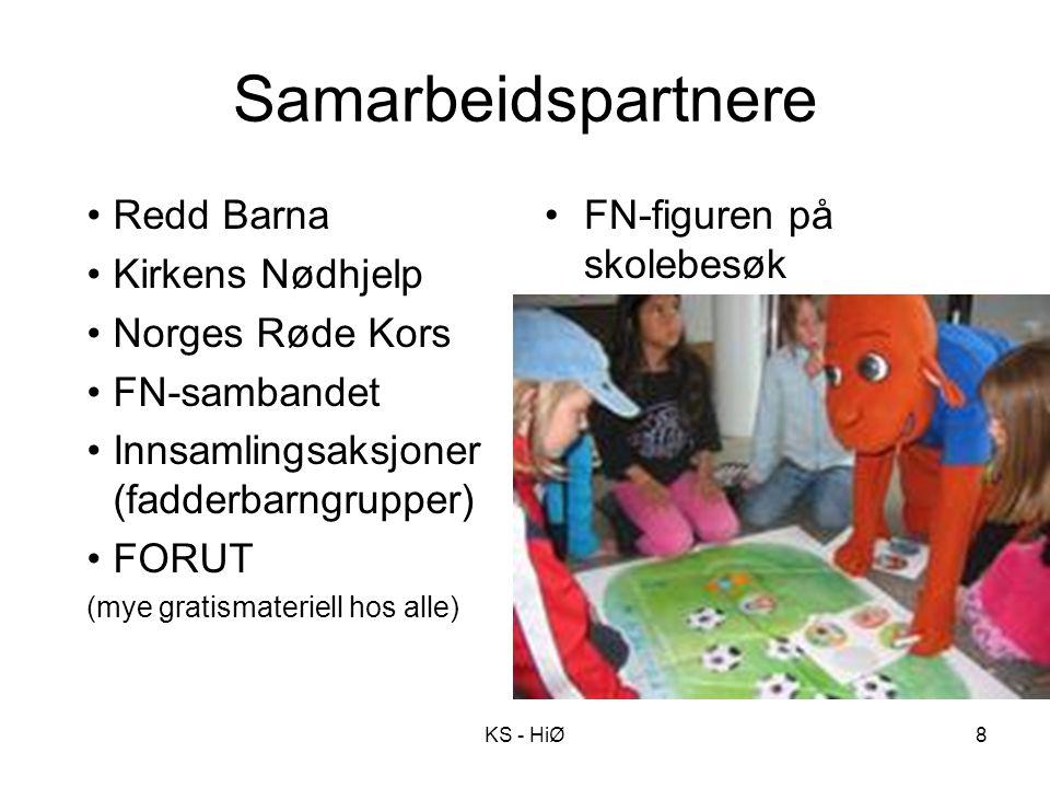 Samarbeidspartnere Redd Barna Kirkens Nødhjelp Norges Røde Kors