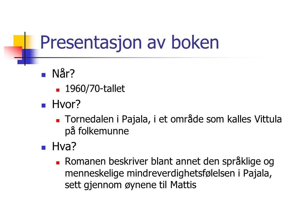 Presentasjon av boken Når Hvor Hva 1960/70-tallet