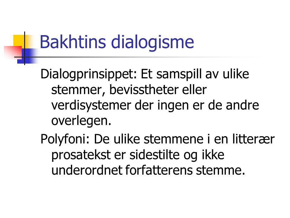 Bakhtins dialogisme