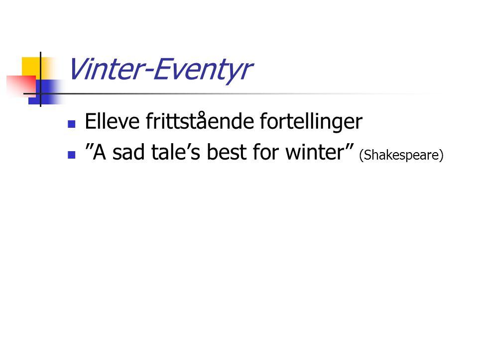 Vinter-Eventyr Elleve frittstående fortellinger