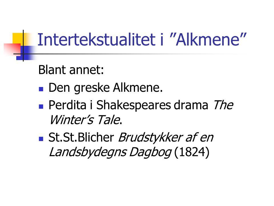 Intertekstualitet i Alkmene