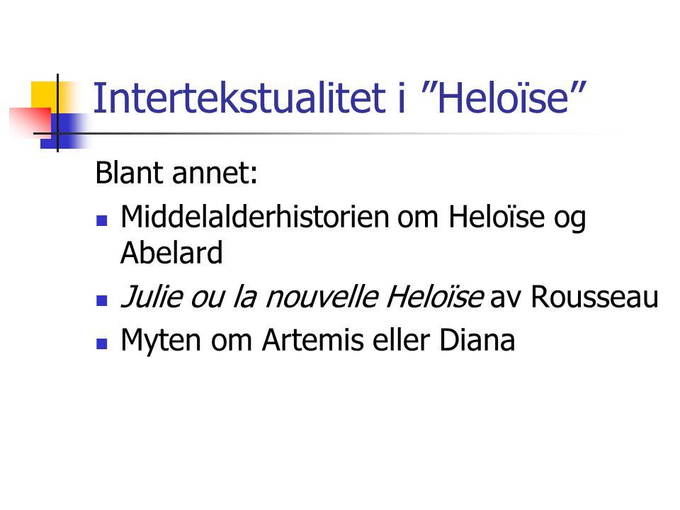 Intertekstualitet i Heloïse