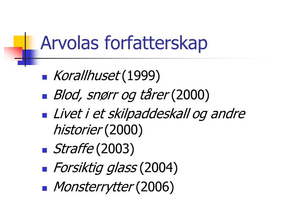 Arvolas forfatterskap