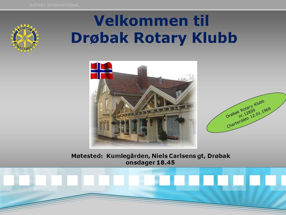 Velkommen til Drøbak Rotary Klubb