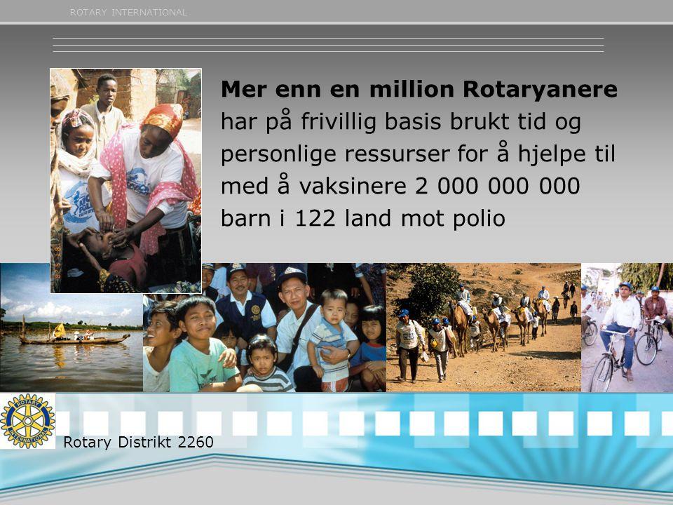 Mer enn en million Rotaryanere