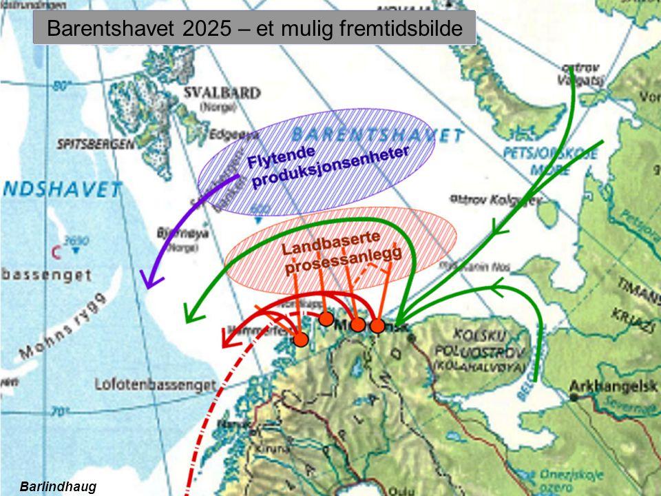 Barentshavet 2025 – et mulig fremtidsbilde